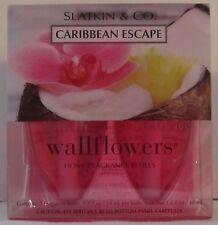 Slatkin & Co. Bath and Body Works Wallflower Refill Bulbs Caribbean Escape pack