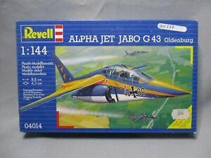 AM277-REVELL-1-144-MAQUETTE-AVION-ALPHA-JET-JABO-G43-REF-4014-TRES-BON-ETAT