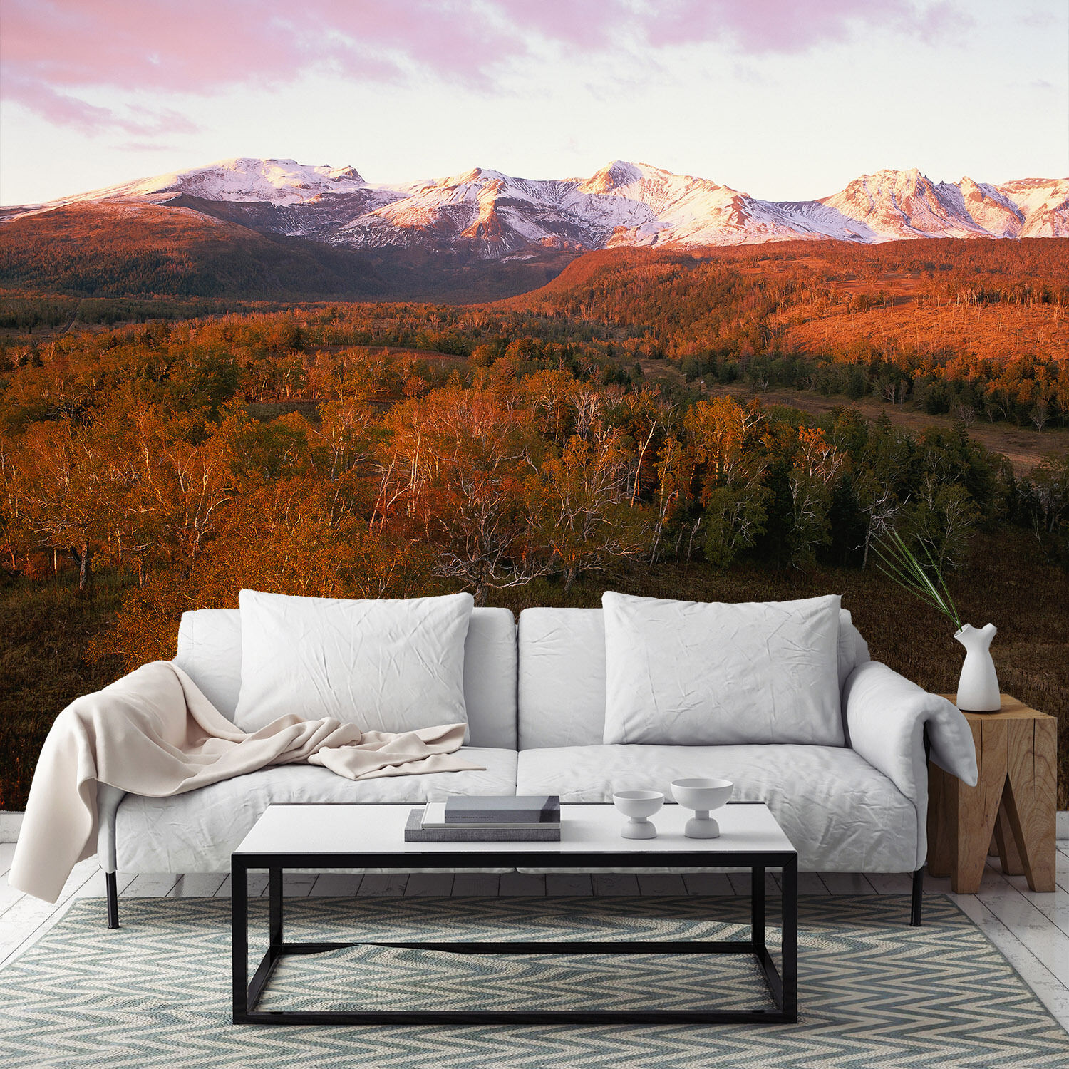 3D Wilderness Snow Mountains 421 Wall Paper Wall Print Decal Wall AJ Wall Paper