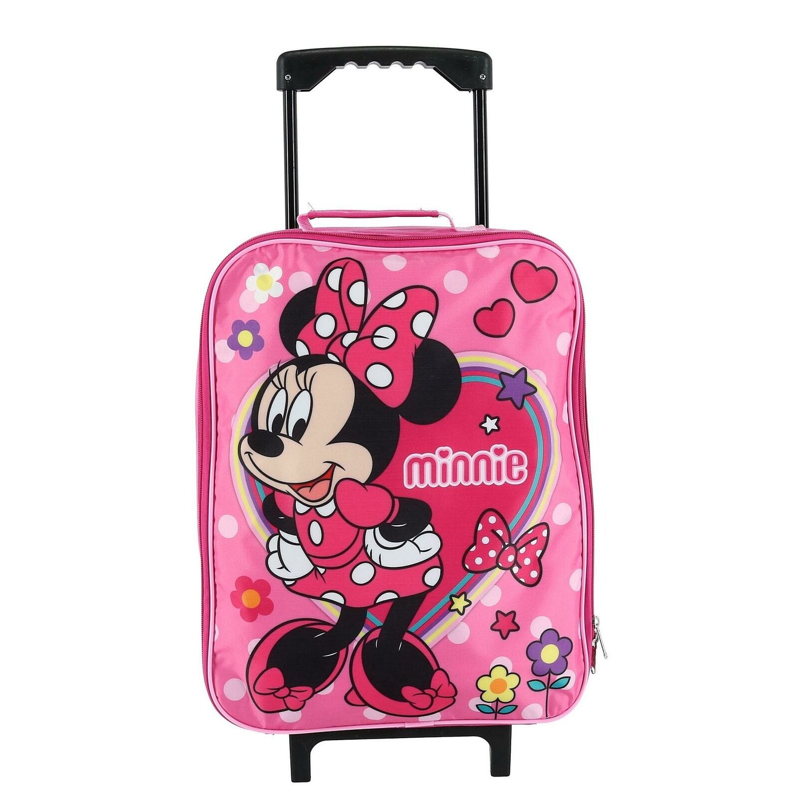 New Disney Kids' Minnie Mouse Rolling Luggage