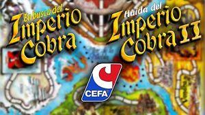 Multi-Anuncio de accesorios del juego de mesa IMPERIO COBRA (1 y 2) de CEFA