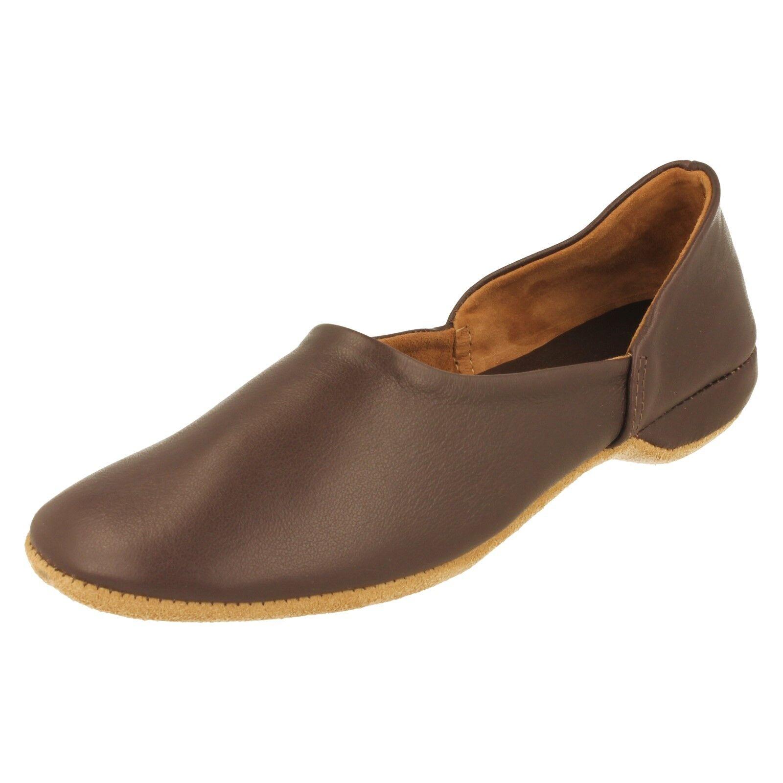 Mens Draper Leather Slippers - Charles