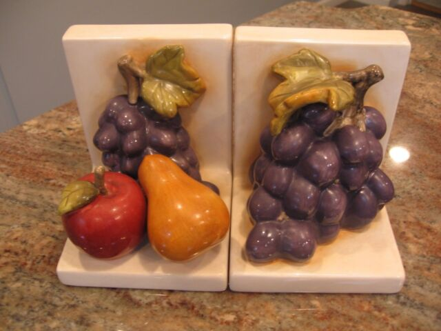 Home Interiors Sonoma Villa Set Of 2 Book Ends Accents For Your Pictures