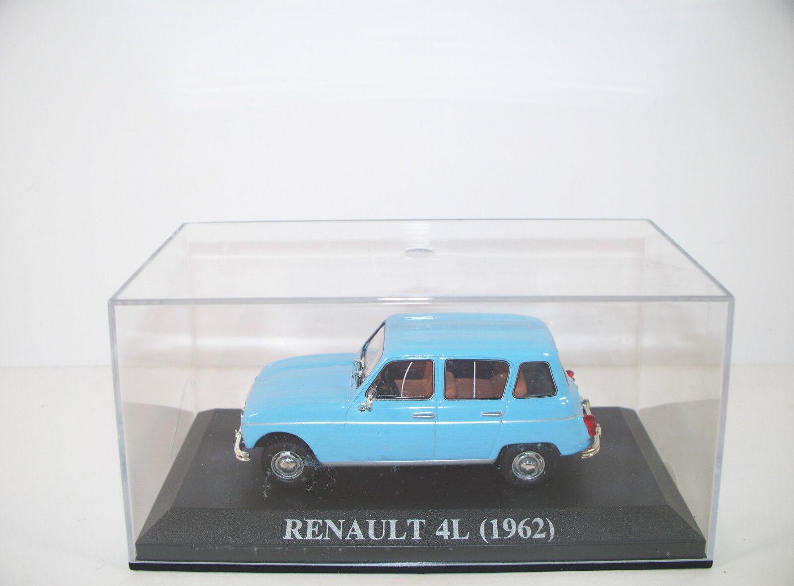 RENAULT 4L (1962) LIGHT blueE MINT BOXED 1 43