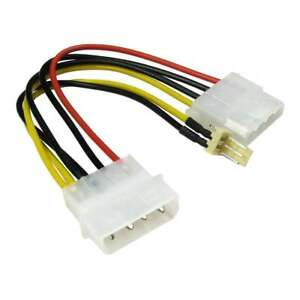 Power-Adapter-Cable-4-pin-Molex-male-female-Extension-to-3-Pin-Fan-CabledUp