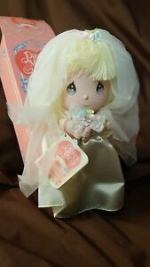 Precious-Moments-1991-Cloth-Doll-Of-The-Month-by-Applause-June-Bride