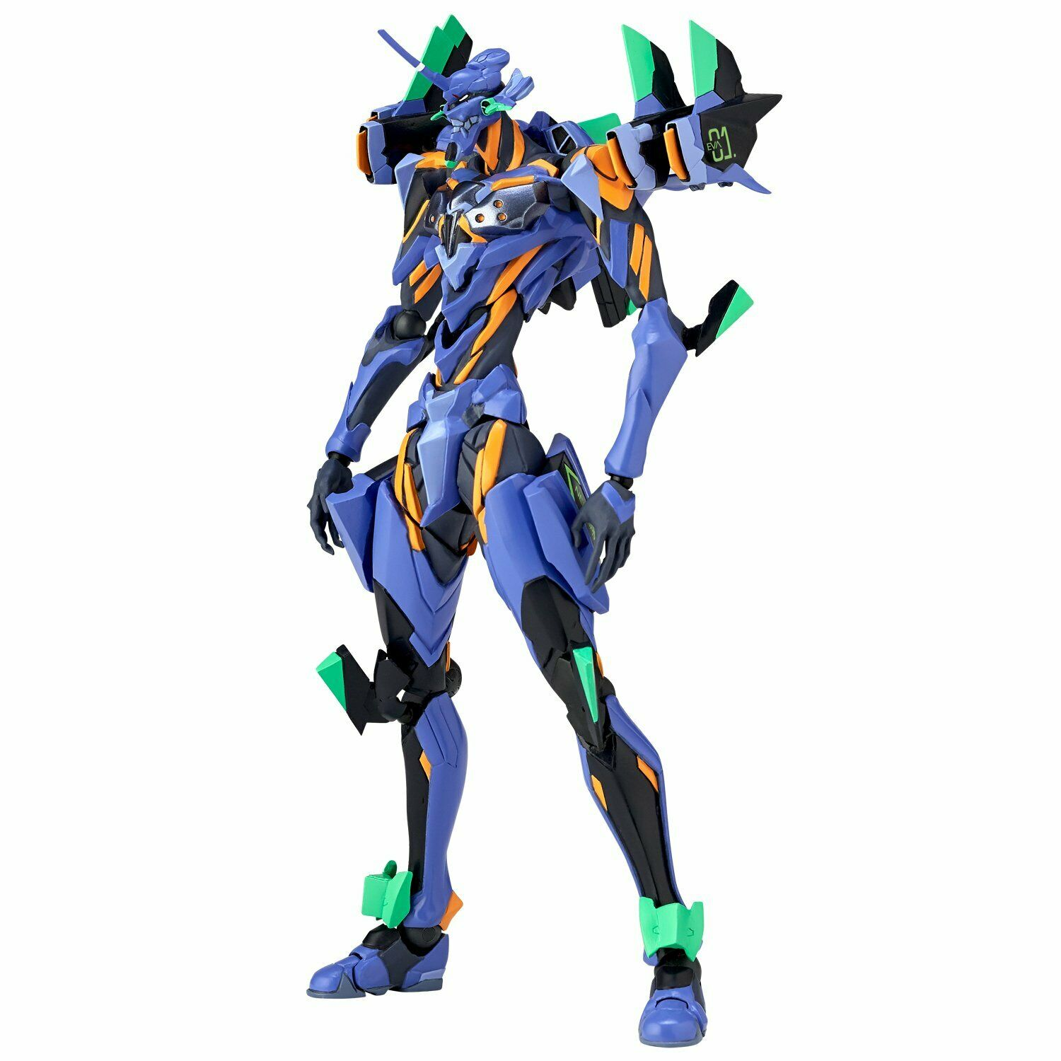 Kaiyodo Revoltech Evangelion Evolution EV-017 Anima Final Unit Figure avec suivi