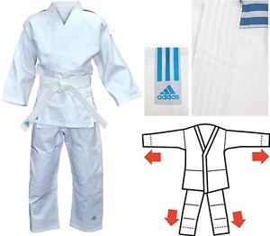 adidas-Judoanzug-Anfaenger-Kinder-Anzug-Judo-Gr-130-140-160