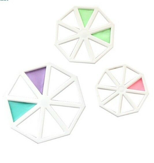 Set of 3 Easy Bunting Cutters Fondant Sugarcraft Mould Cake Decorating