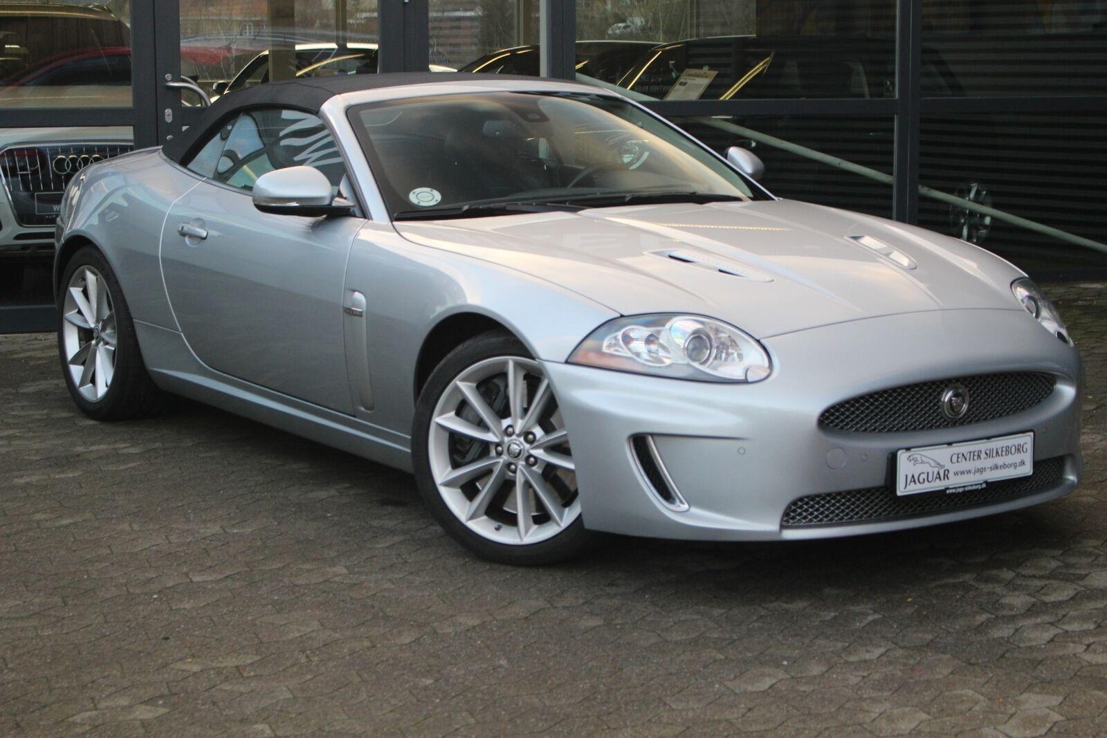 Jaguar XKR 5,0 S/C Convertible aut. 2d
