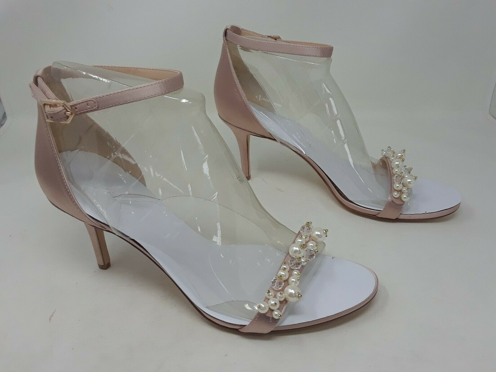 New   Women's Sam Edelman Platt Embellished Satin Sandals F7863F1650 size 11 Z11
