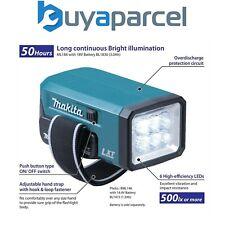 Makita DML186 18v Rechargeable Fluorescent LED Flashlight Torch - Bare Unit
