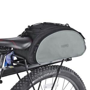 Roswheel 13L Cycling Bike Rear Rack Bag Bicycle Shelf Pocket Shoulder Pack US