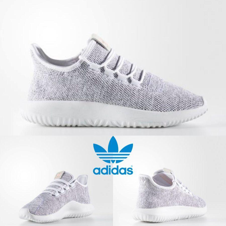 Adidas Original Tubular Shadow shoes Running White Grey Red BB8872 SZ 4-13