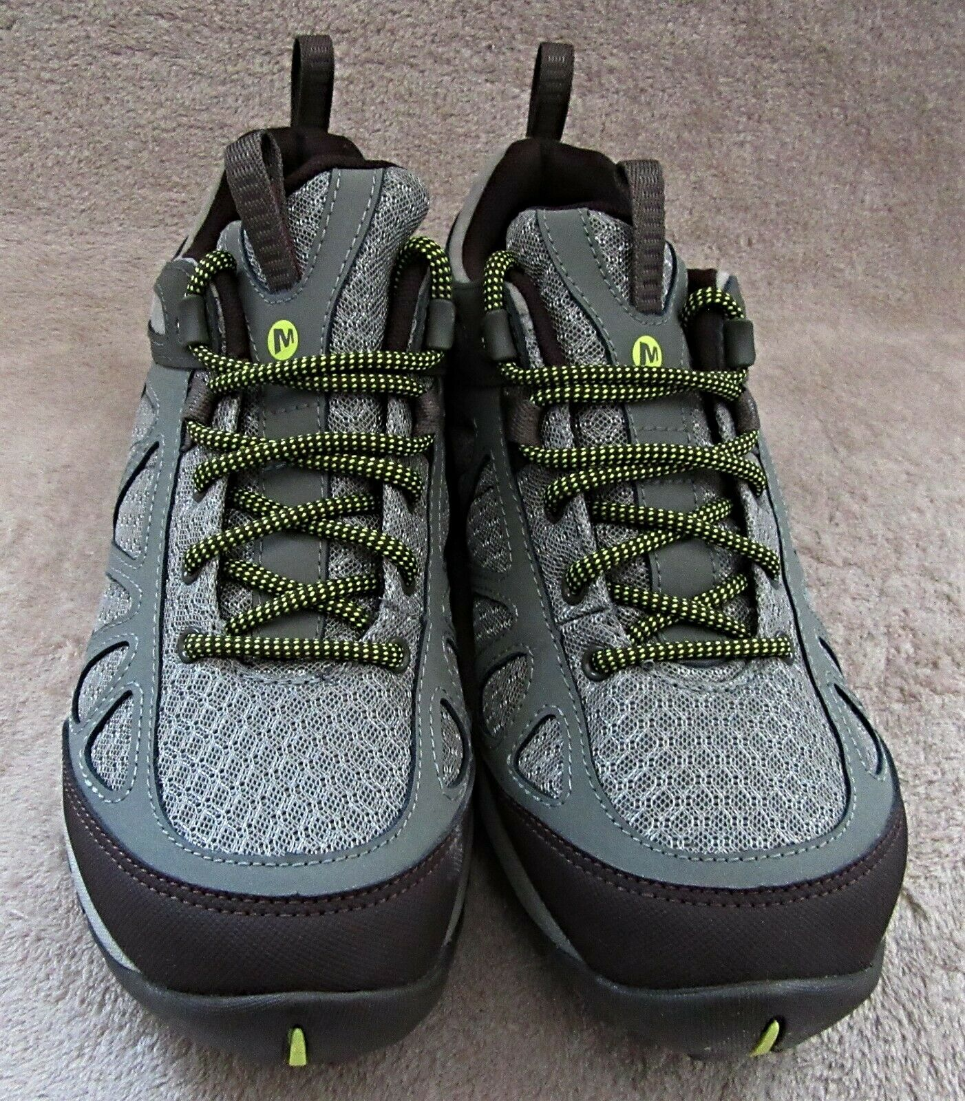 MERRELL J37464 Womens Siren Sport Q2 Dusty Olive Leather Leather Leather shoes US 9 M EUR 40 NWB 1b191c