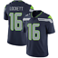 NFL T-Shirt Seattle Seahawks Football Stitched Jersey Lynch 24# Wilsonn 3#16#