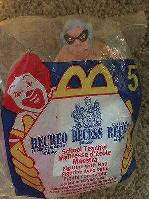 Recess School Teacher Mcdonalds Happy Meal Toy by McDonalds