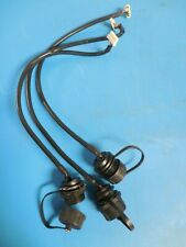 Amphenol Ltw Usb Female Feed Through Connector Withwaterproof Black Cover Lot Of 3