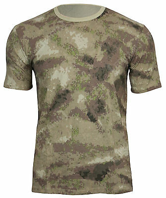 Mil-Tacs FG Pattern Camo Cotton ARMY T-SHIRT - All Sizes Camouflage Military Top