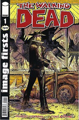 Adlard Amc Series Relieving Heat And Thirst. Practical The Walking Dead # 1 Image Firsts Nm Rick Michonne Kirkman