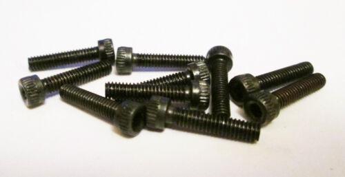 "model engineering// live steam loco 10pk BA socket cap screws 6 BA x 1//2/"""