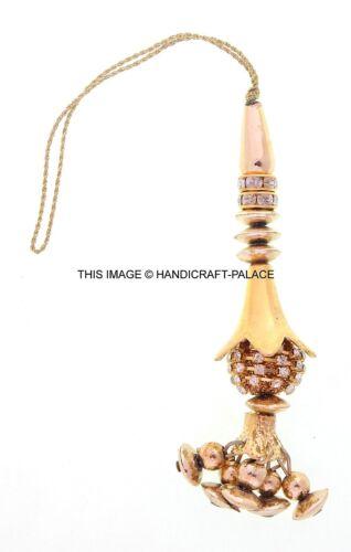 Indian Latkans Beaded Tassels Key Chain Salwar Kameez Fashion Accessories 1 Pair