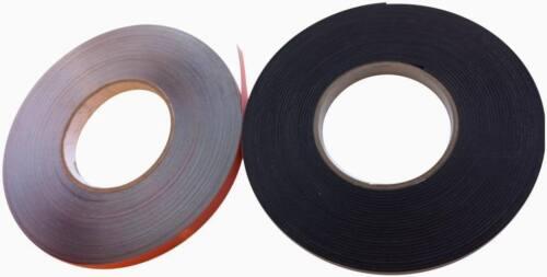 Ruban acier magnétique /& secondaire vitrages 50m Kit Blanc Windows click /& collect