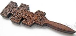 Unique-Orthodox-Hutsul-Handmade-Wooden-Wall-Cross-Crucifix-with-JESUS-CHRIST