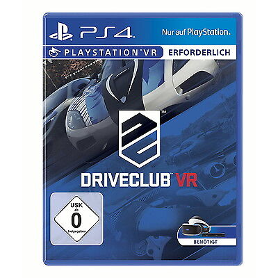 DriveClub VR, PlayStation 4, PS4, Neu & Ovp, PSVR
