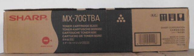 Original Sharp MX-70GTBA Toner black für MX 5500 6200 7000 N Karton C