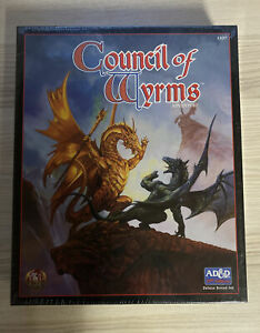TSR Ad&d 2nd Ed Council of Wyrms