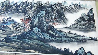 Antique painting traditional Chinese Zhaojun holds the
