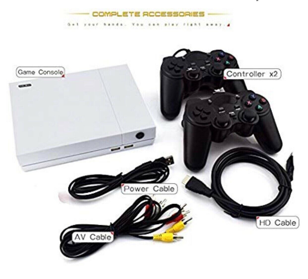 Anbernic Retro Game Console , 4K HDMI TV Output Output Output Video Game Console Built-in 843 461f91