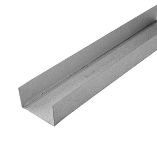 8 Stab je 3m UW Wandprofil 100mm Randprofil Ständerwerk Trennwand U Profil