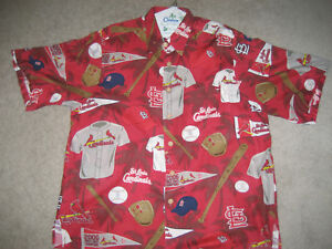 a78c5f7ed Image is loading ST-LOUIS-CARDINALS-HAWAIIAN-SHIRT-CLASSIC-034-CARDS-