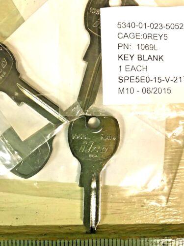MAIL BOX KEY 174B QTY 6 ILCO 1069L KEY BLANKS NA14