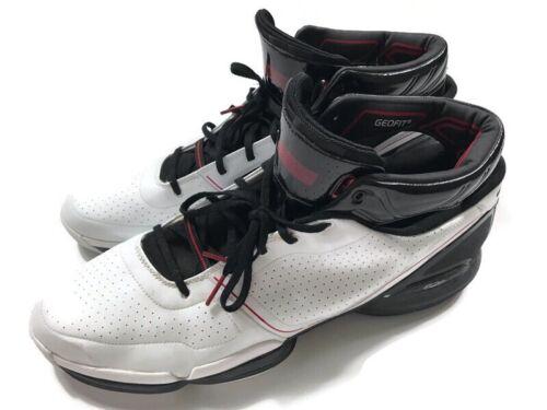 Adidas Geofit Adizero Basketball Sneakers White/black… - Gem