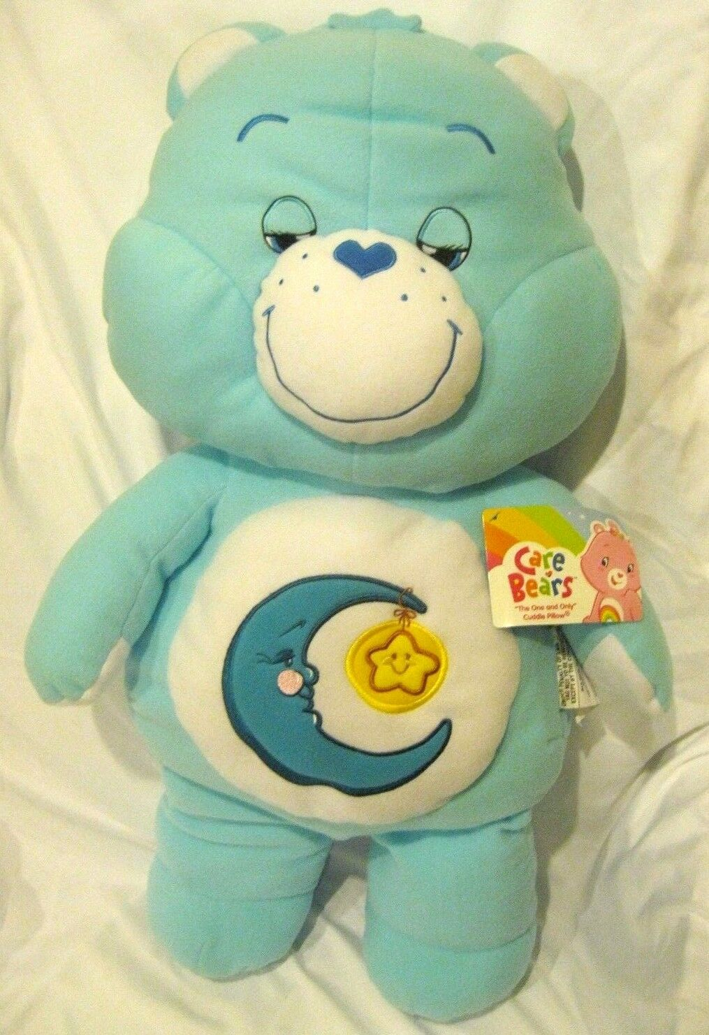 Care Bears Blau Moon and Star 27  Soft Plush Pillow Pal Doll Plush-Brand New