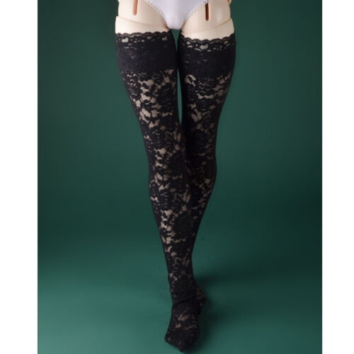 Dollmore Trinity Doll - FOH Lace Band Stockings (Black - A)