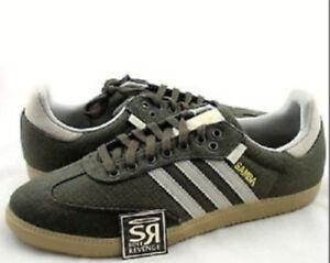 RARE Vtg. adidas Hemp Samba Turf Indoor Soccer Shoes Trainers SNEAKERS Mens Sz 5