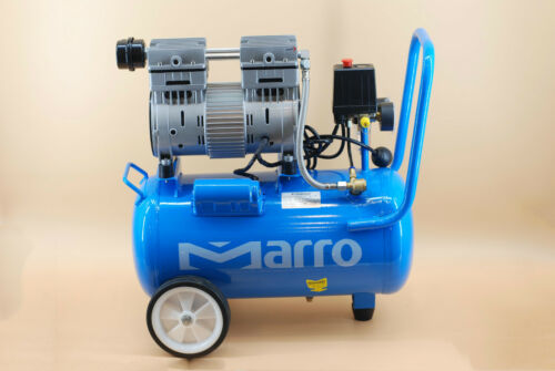 NEW Marro Indstrial Oil Free Air Compressor 24L 1HP 0.75KW ELECTRICAL MOTOR