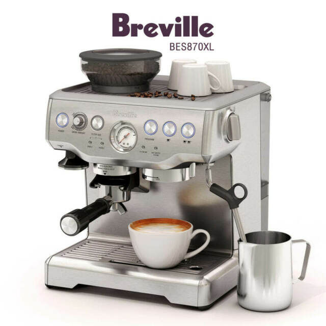 NEW Breville the Barista Express Espresso Machine ...