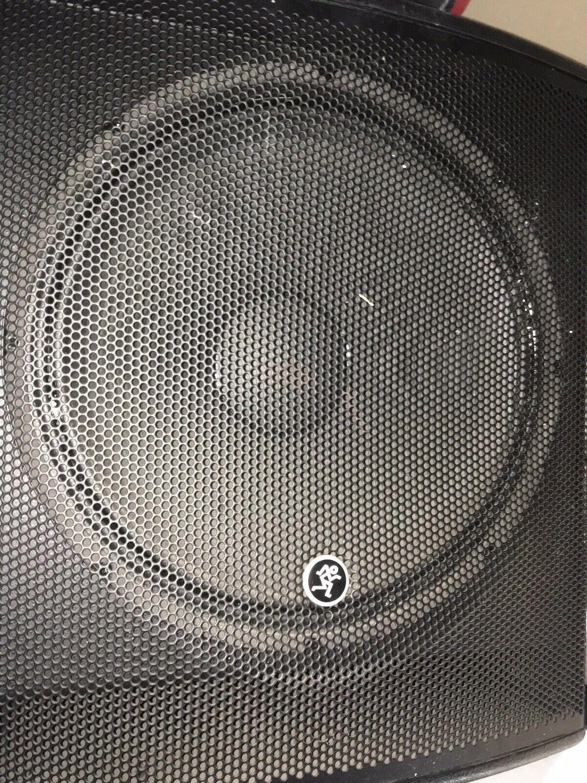 Thump SRM1801 18 Inch Powered Sound Reinforcement Subwoofer EUC
