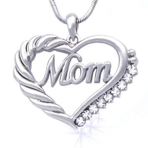 Heart-MOM-Necklace-Mothers-Day-Birthday-Gift-for-Wife-MOM-Crystal-GIFT-BOX-CARD