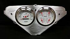1955 1956 1957 1958 1959 CHEVY TRUCK QUAD GAUGE DASH CLUSTER WHITE