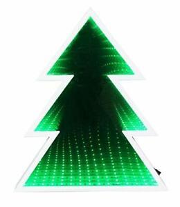 GREEN-CHRISTMAS-TREE-INFINITY-MIRROR-DECORATION-LIGHT-GIFT-SET