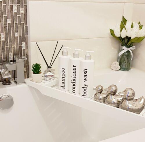 Bomba de Dispensador Recarregável Banheiro Branco Garrafas Conjunto De Grandes 500ml produtos de higiene pessoal.