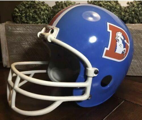 67ee09f2 Denver Broncos 68-74 TK Throwback Full Size Football Helmet for sale online    eBay