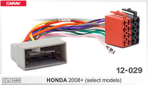 ISO-DIN-Kabel-Adapter-passend-fuer-Honda-Accord-JAZZ-Fit-Pilot-Insight-MRV-2008