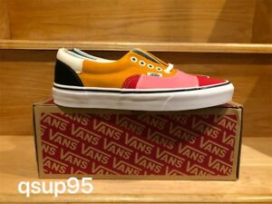 8933722c0a59af Image is loading Vans-Era-Patchwork-Multi-Color-White-Red-Yellow-